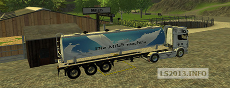 Milk Truck With Dolly v 1.0