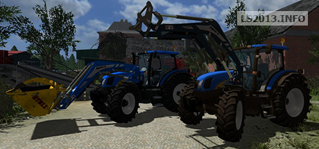 New Holland TS 135A FL v 2.1