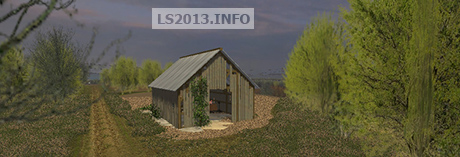 Old Barn With LMS Lighting v 1.0