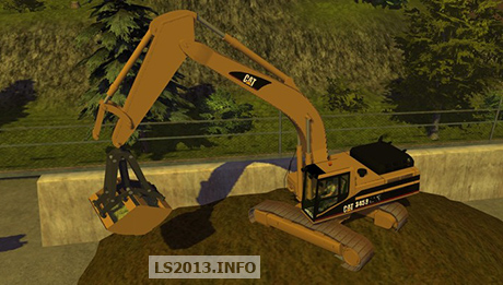 Gripper for Caterpillar 345B v 1.0