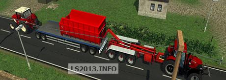 HKL Sled Trailer 4 Axle v 1.0 BETA