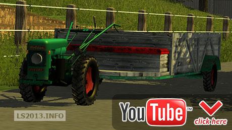 Holder-ED-II-single-axle-tractor