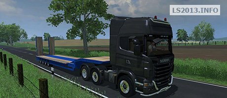 Scania R730 Topline with Goldhofer