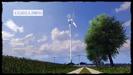 Wind turbine Enercon E 40