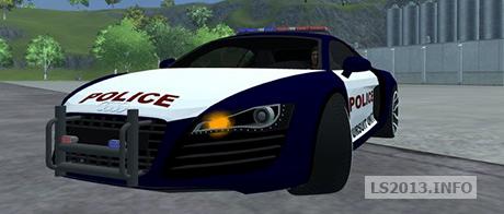 Audi R8 Police Car V 1 0 Ls 2013 Mods