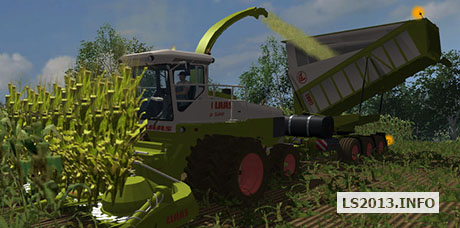 Claas Jaguar 685SL SET v 4.2 BETA