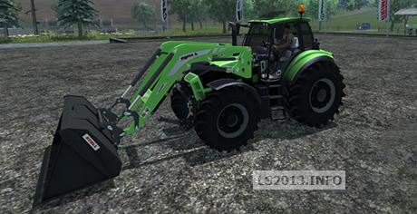 Deutz Fahr Agrotron 7250 TTV v 1.0