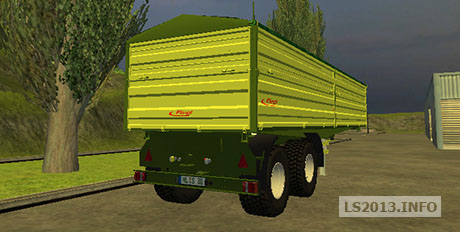 fliegl-2-axles-trailer