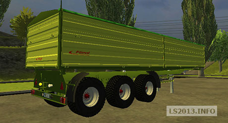 Fliegl 3 Axles Trailer v 1.0