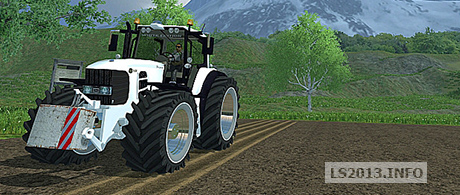 John Deere 7530 v 2.0 White Chrom Edition