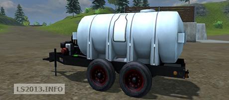 mobile milk tank