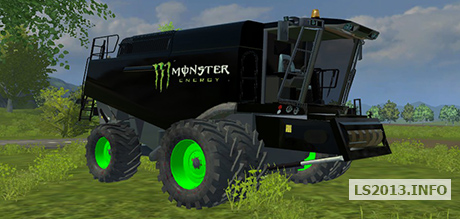 Claas Lexion 770 Monster Edition