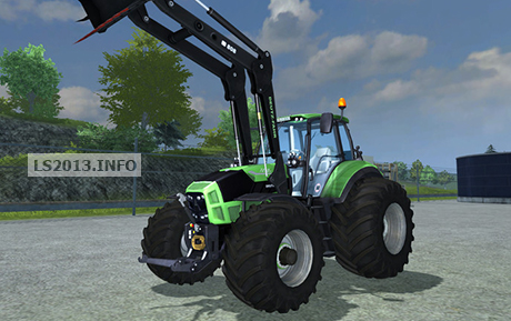 Deutz TTV 7250 with Frontloader v 1.0