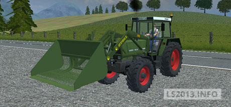 Fendt 308 v 1.0 With Stoll Industry Loader