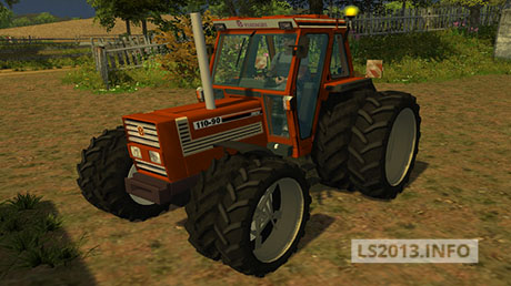 Fiatagri 110 90 v 1.0 with open Pipe
