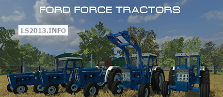 Ford Force Tractors v 1.0