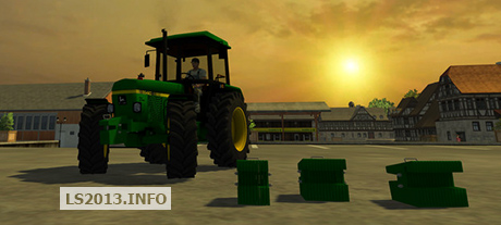John Deere Front Weights Pack v 1.0