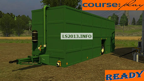 Krassort manure container for Courseplay