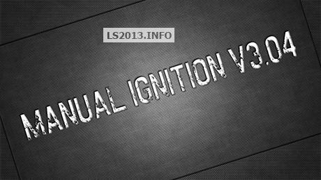 Manual-Ignition