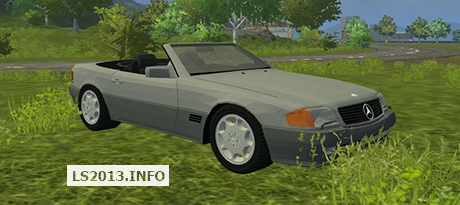 Mercedes Benz 500SL v 1.0