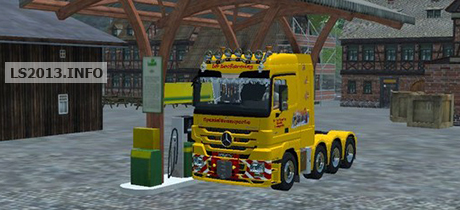 Mercedes Benz Mp3 Heavy v 2.0