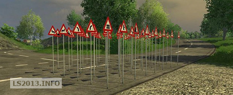 Traffic Warning Signs v 1.0