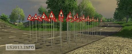 Traffic Warning Signs v 1.0