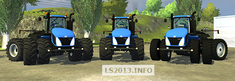 New Holland T9 v 2.0