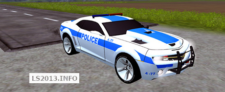 police-camaro