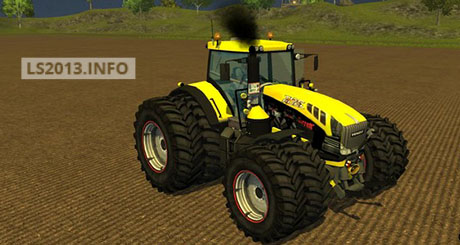 Fendt Vario 939 Yellow Bull v 2.0