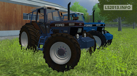 Ford 8630 New Old Powershift Pack v 1.0 FINAL