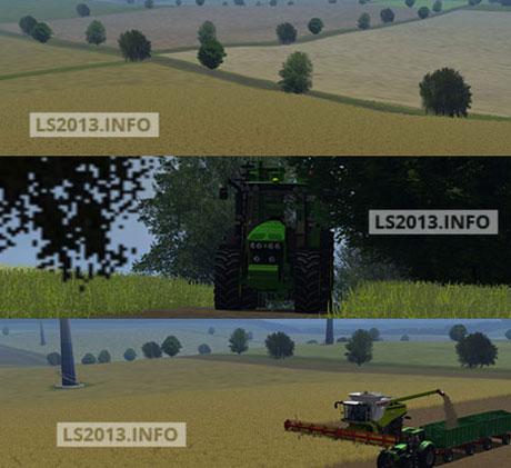Harvest Time Map v 1.0