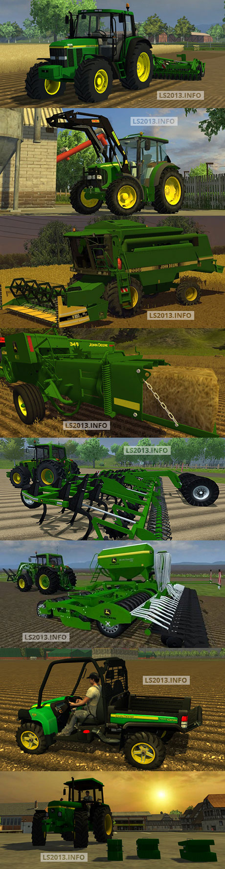 John Deere Agricultural Pack