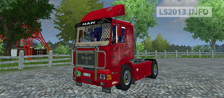 MAN F90 Old School v 1.0