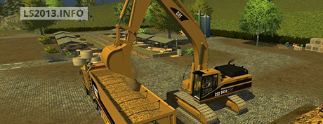 Cat 345B Shovel v 1.1