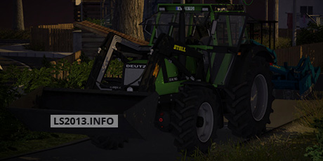 Deutz DX 90 with Frontlader v 2.0