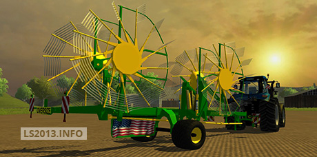 John Deere four rotor swather v 1.0