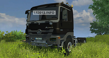 Image For Mercedes-Actros-2048-Black-v-2.0
