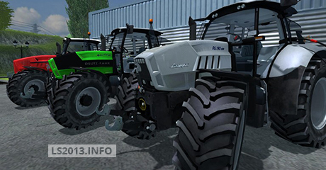 SDF Group Tractors Pack v 1.0