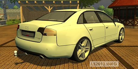 Audi-A-4-Quattro-with-Trailer-coupling-v-1.1-