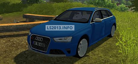 Audi RS4 Avant v 1.0