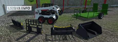 Bobcat S160 Skid Steer Loader v 1.0