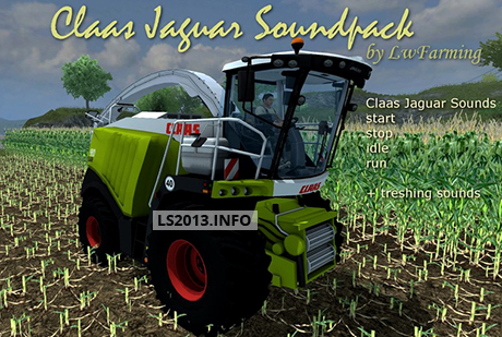 Claas Jaguar Sound Pack v 1.0
