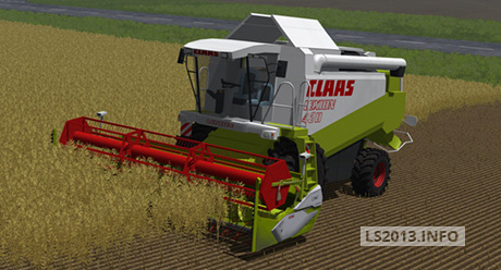 Claas-Lexion-420-with-C-540-Cutter-v-2.0