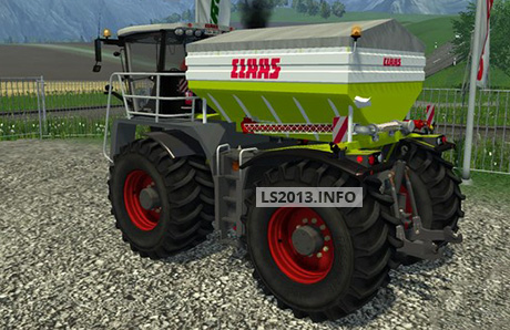 Claas Xerion 3800 Saddle Trac Pack v 1.0