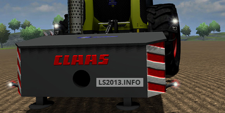 Claas-Xerion-Weight-v-1.0-