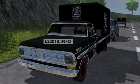 Ford F100 Jack Daniels 68 v 1.0