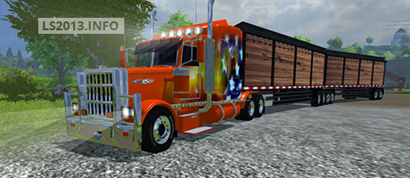 Peterbilt 379  Road Train v 1.0