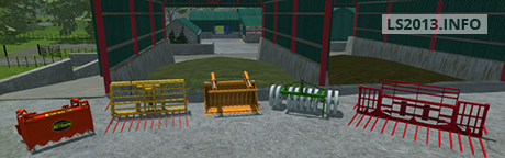 Silage Equipment v 1.0
