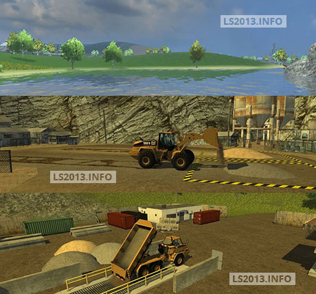 The Lake Map with Mod Pack v 1.0 FINAL - Farming simulator 2013 ...